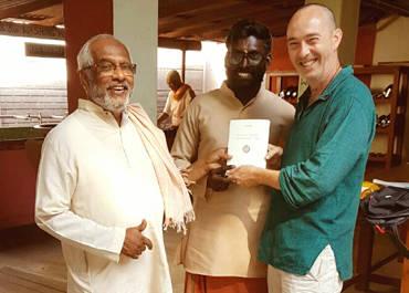 """Le livre """"Corps et Prière"""" en Inde"""